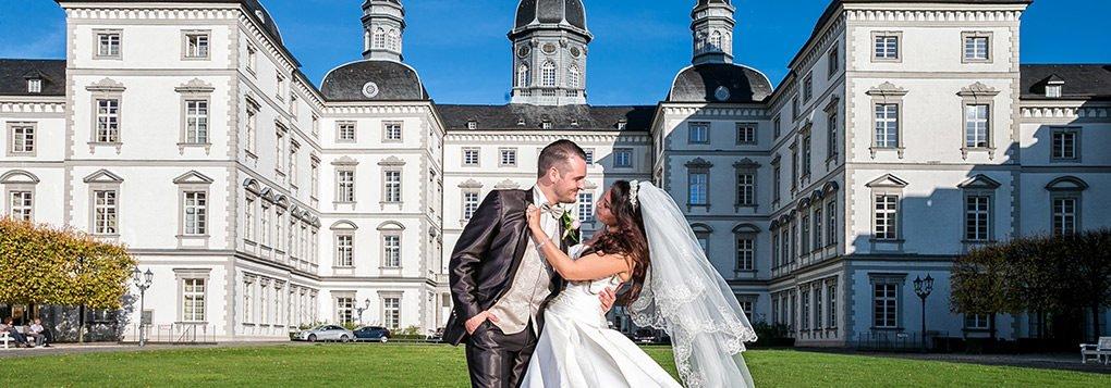 Hochzeit im Schloss Bensberg in Bergisch Gladbach